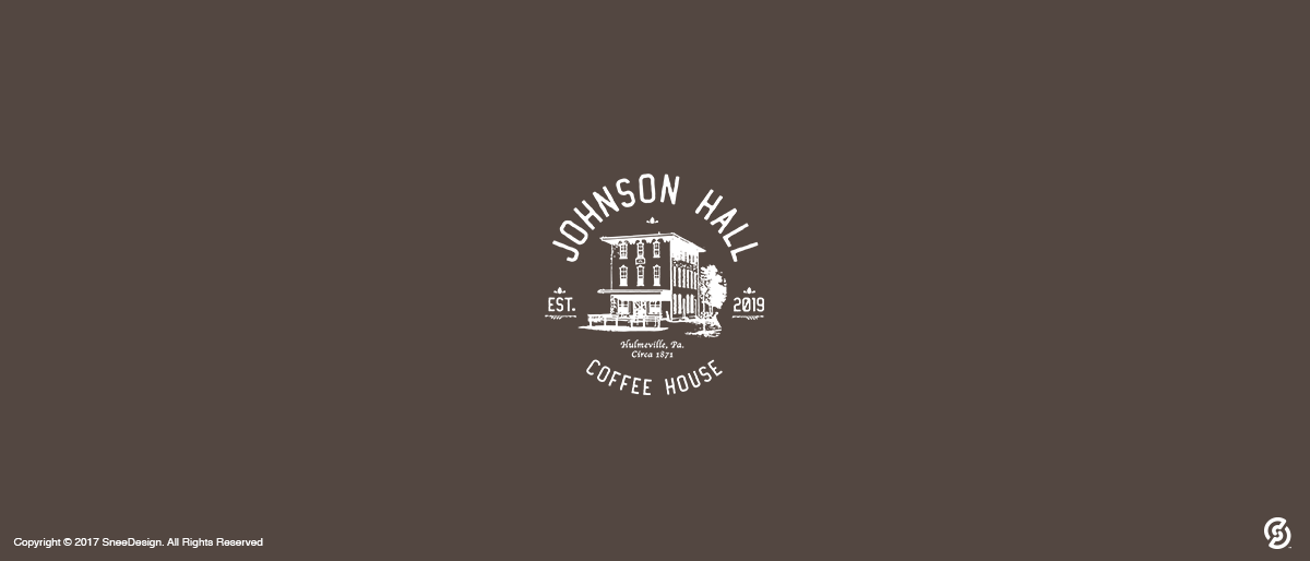 Johnson Hall Coffe Shop Logo